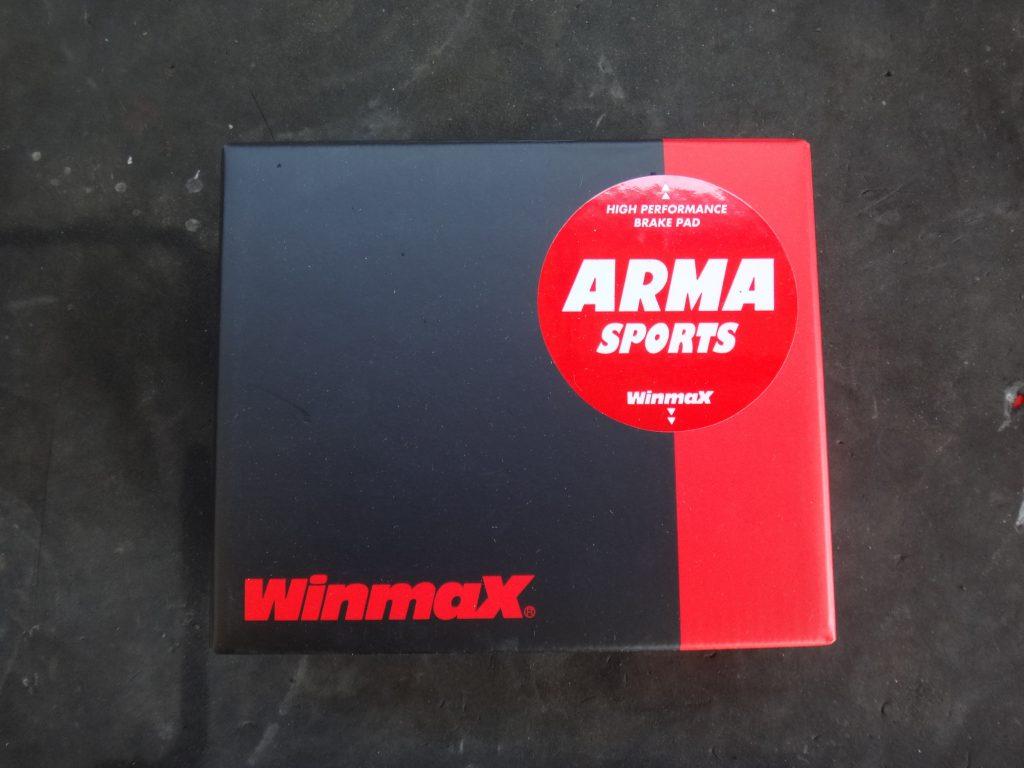 Winmax ウィンマックス パッド パット ブレーキ ジムカーナ
