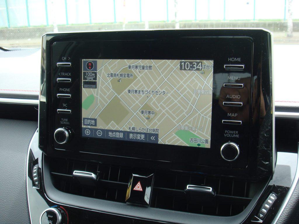 カローラスポーツ,新車,GZ,内装,室内,T-Connect,ドライブレコーダー,