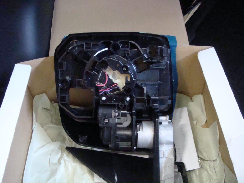 6型,メッキミラー,電動格納ドアミラー,ミラーヒーター付,パノラマミックビューモニター,カメラ,移植,交換,
